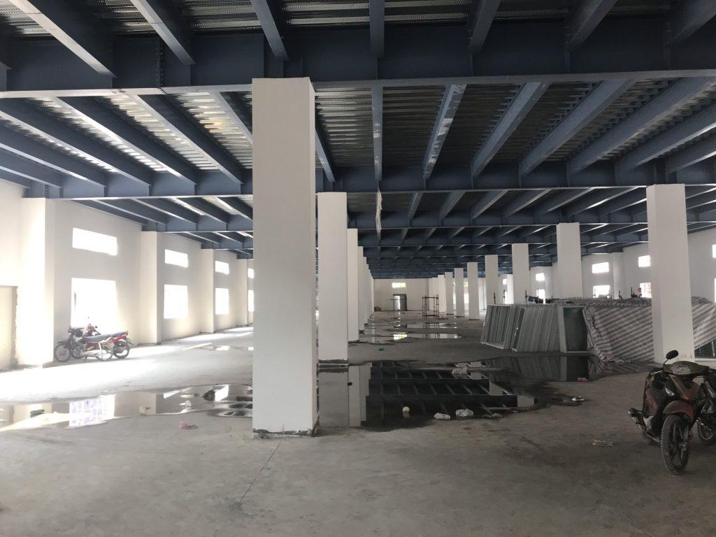 Nhà xưởng trong KCN Đức Hòa, Long An
